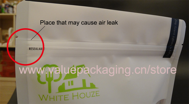 Place-on-pouch-that-may-cause-air-leak
