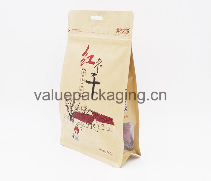 054-box-kraft-paper-bag-with-clear-window-for-chinese-dates