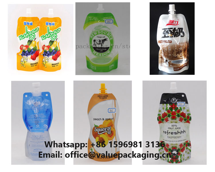 collection-bottle-shape-spout-pouch
