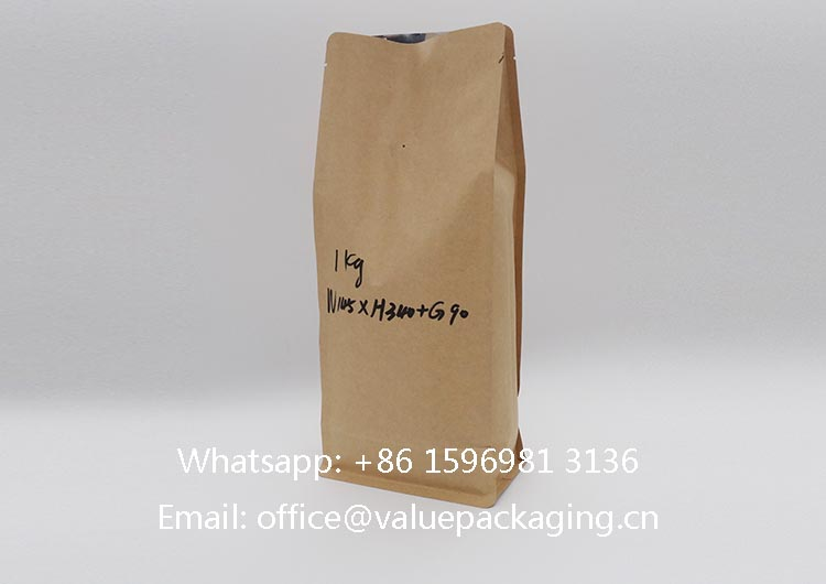 1kg-coffee-beans-box-bottom-kraft-paper-bag