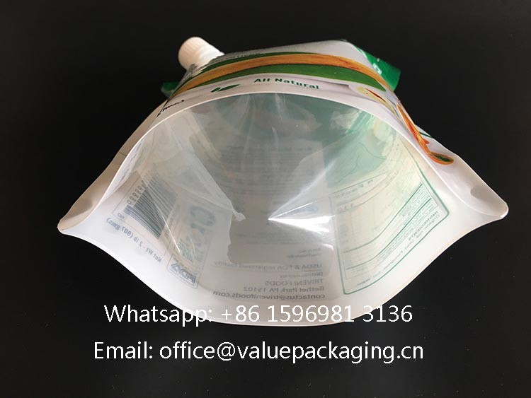 Clear-bottom use-clear-PE-film -and-bottom-not -printed-with-ink