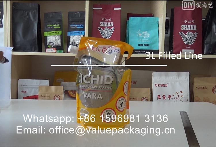 filled-line-of-3liter-spout-pouch-normal