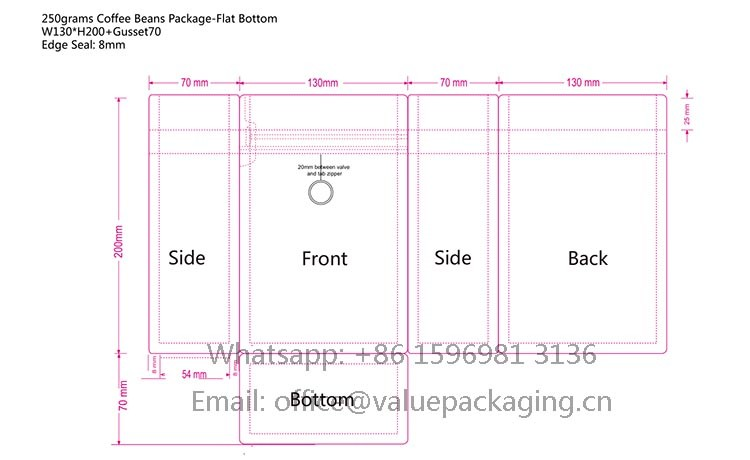 layout-of-thinner-box-bottom-coffee-bag-12oz