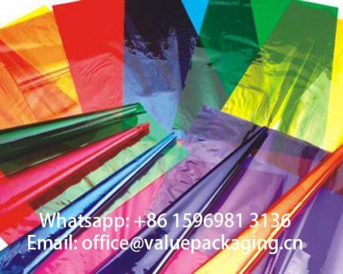 Colorful-cellulose-film