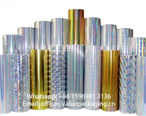 holographic-metallized-paper-rolls-standing
