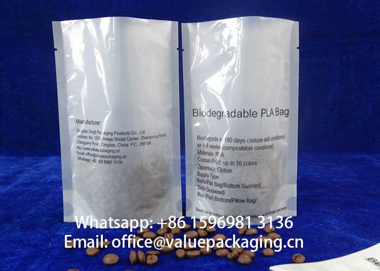 semi-opaque-BOPA-PLA-foil-laminate-standing-coffee-pouch